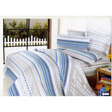 【青春魅影】歐式雙人舖棉兩用被套八件式床罩組(加大組)