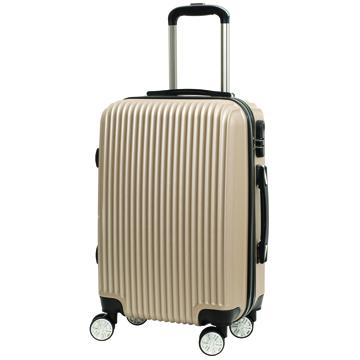 時尚經典20吋ABS行李箱-金