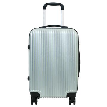 時尚經典20吋ABS行李箱-銀