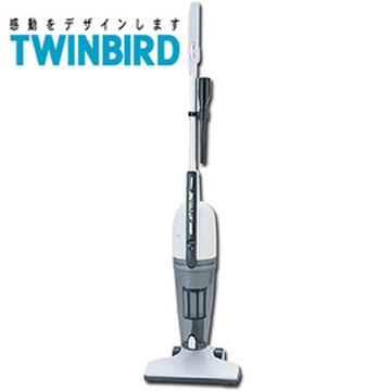 日本《 TWINBIRD 》直立式大吸力吸塵器(TC-D338K)