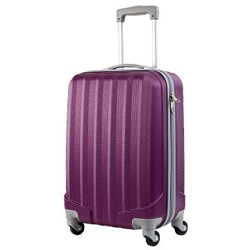 晶幻紫ABS 20吋旅行登機箱