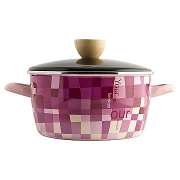 FOR U布拉格搪瓷雙耳鍋