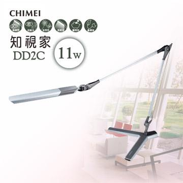 CHIMEI奇美 知視家LED護眼檯燈(銀色) DD2C