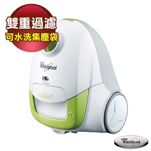 【Whirlpool惠而浦】長效型集塵袋吸塵器 VCT3801G