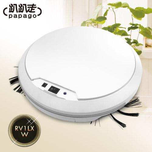 【趴趴走】 智慧型吸塵器機器人(白色) RV1LX-W