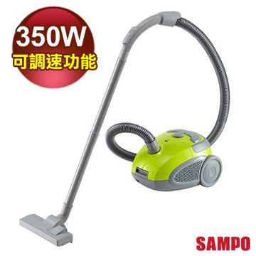【SAMPO聲寶】可調速紙袋型吸塵器EC-SA35CB