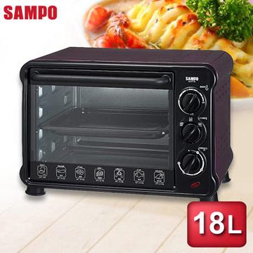 【SAMPO聲寶】 18公升電烤箱KZ-PU18