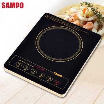 【SAMPO聲寶】 超薄不挑鍋電陶爐KM-SG12P