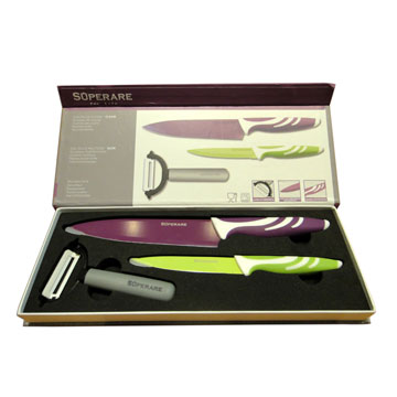 Superare廚用刀3件禮盒組