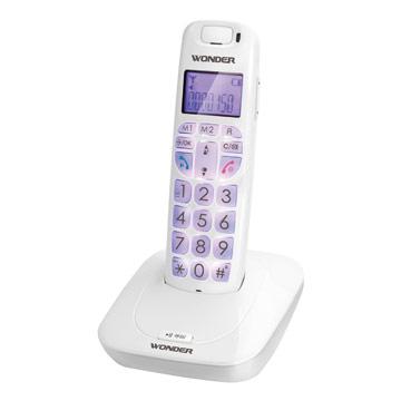 WONDER旺德DECT數位無線電話WT-D05-白