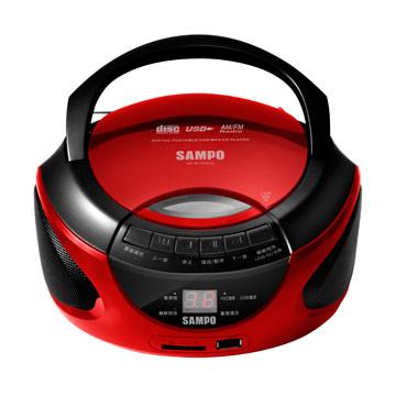 聲寶手提USB/CD/SD音響AK-W1402UL