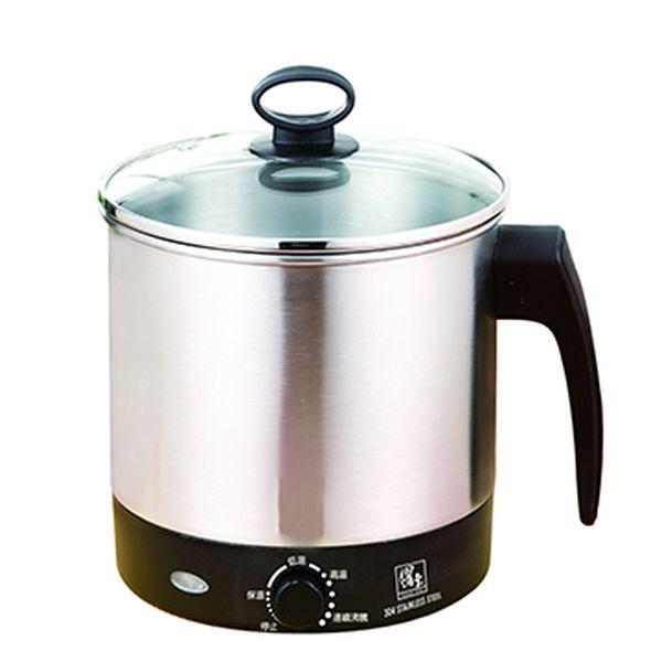 【鍋寶】1.6L不鏽鋼多功能美食鍋BF-1606