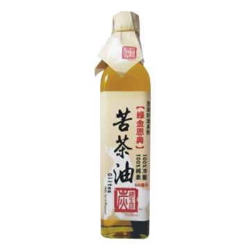炭道冷壓苦茶油(500ML)