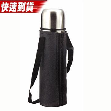 【三箭牌】不鏽鋼保溫瓶1000ML(原鋼色)-MIA-1000