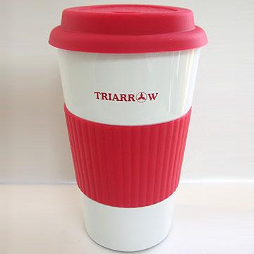 【三箭牌】經典不鏽鋼環保杯(紅色) MICF-500WR