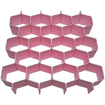 6.5公分多用途18格抽屜分類置物隔板(8枚/組)(3334)