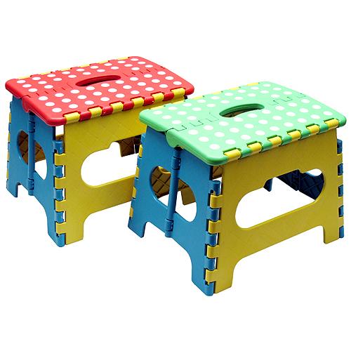 色彩繽紛小摺疊椅4入超值組(SR-166X4)
