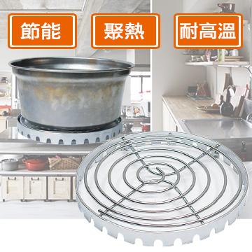 月陽台灣製專利瓦斯爐節能聚熱圈節能超值2入(201379)