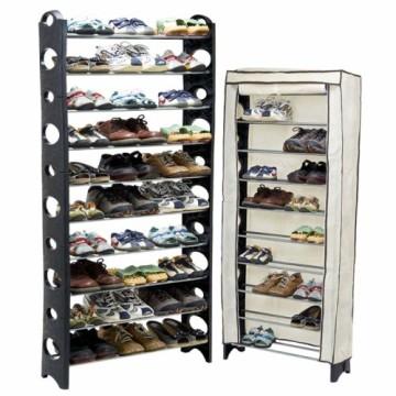 Xtouch可調大容量10層收納鞋架