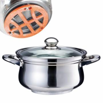 西華25cm不鏽鋼免火再煮鍋