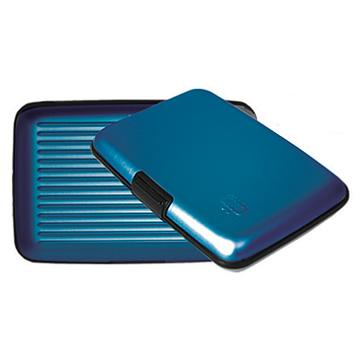法國OGON時尚信用卡收納盒(時尚藍)