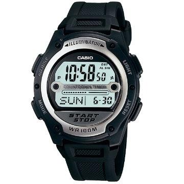 CASIO卡西歐-運動型數字膠帶錶