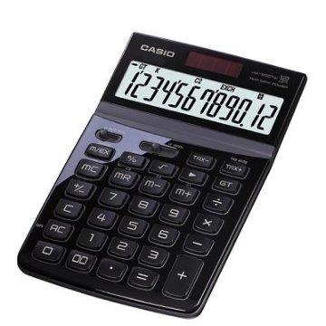 CASIO 商務桌上型計算機12位數JW-200TW(晶砂黑)