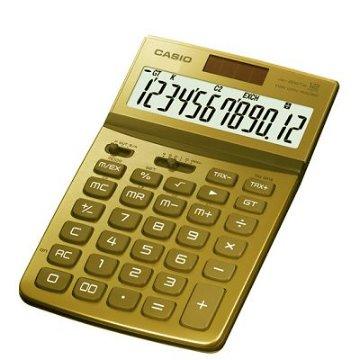 CASIO 商務桌上型計算機12位數JW-200TW(尊貴金)