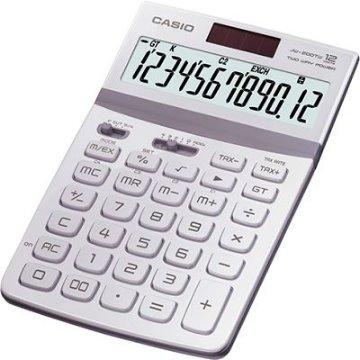 CASIO 商務桌上型計算機12位數JW-200TW(瑩雪白)