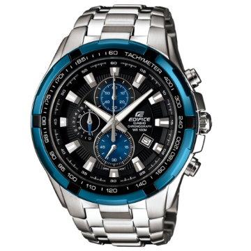 CASIO EDIFICE.經典三針三眼賽車腕錶EF-539D-1A2