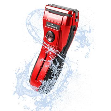 聲寶勁能水洗雙刀頭電鬍刀(紅)EA-Z1503WL