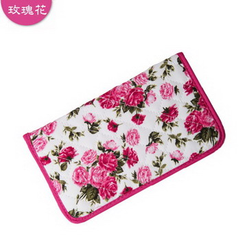 PaTaYa曼谷包流行時尚多功能長夾(玫瑰花)