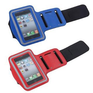 【BRI-RICH】iPhone 4專用運動跑步休閒臂套/保護套/手臂包-紅色