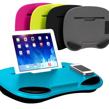 【御工匠】新一代多媒體膝上電腦桌(懶人必備)-雲朵藍