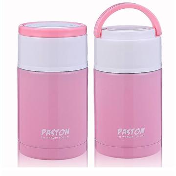 【御工匠】PASTON 304不鏽鋼燜燒罐1000ML(買一送一)-珠光粉