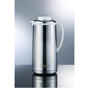 【御工匠】PASTON真空不鏽鋼免插電保溫壺1.9L(5色可選)-時尚銀