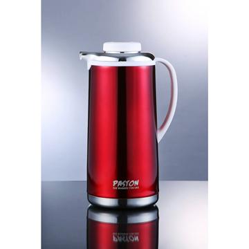 【御工匠】PASTON真空不鏽鋼免插電保溫壺1.9L(5色可選)-魅力紅