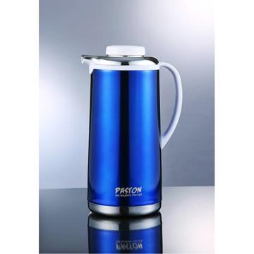 【御工匠】PASTON真空不鏽鋼免插電保溫壺1.9L(5色可選)-耀眼藍