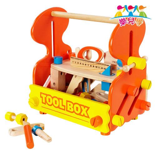 【樂兒學】多功能工具箱木製學習積木