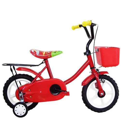 Adagio 12吋悠遊童車附置物籃(紅)
