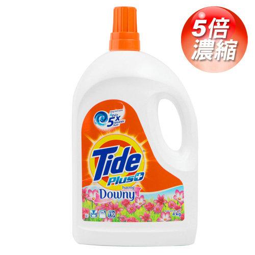 美國TIDE汰漬 5倍濃縮洗衣精4kg添加柔軟精新配方