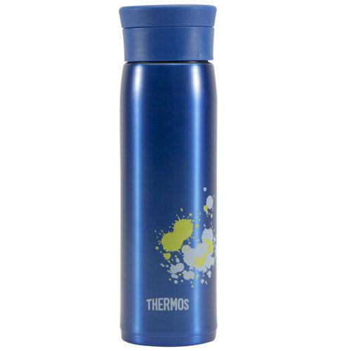 THERMOS膳魔師 不鏽鋼真空保溫杯600ml-藍色【JMZ-600】