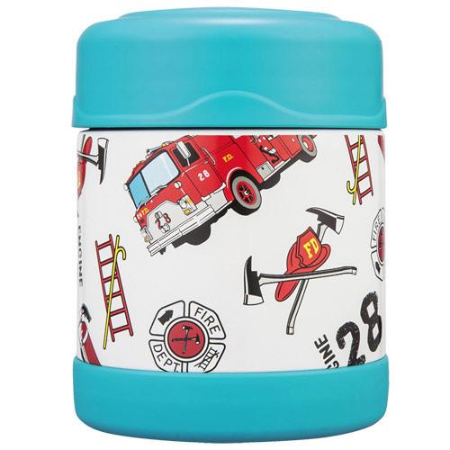THERMOS膳魔師 消防車不鏽鋼真空食物罐300ml【F3001HRB6】