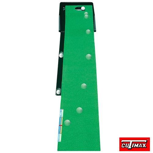 專利可變化坡道-高爾夫果嶺推桿練習器(草皮可撥)
