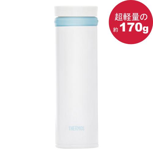 THERMOS 膳魔師極輕量真空保溫杯350ml-珍珠白色【JNO-350】
