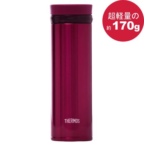 THERMOS 膳魔師極輕量真空保溫杯350ml-酒紅色【JNO-350】