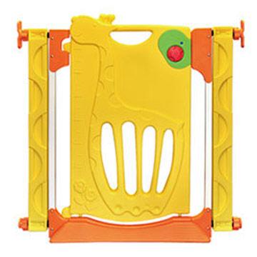 寶貝樂可愛長頸鹿三段式門鎖安全門欄