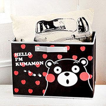 Kumamon酷MA萌 橫式玩具衣物收納箱/抽屜箱