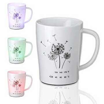 iTOMO-Cup 智能提醒喝水發光溫感杯-蒲公英