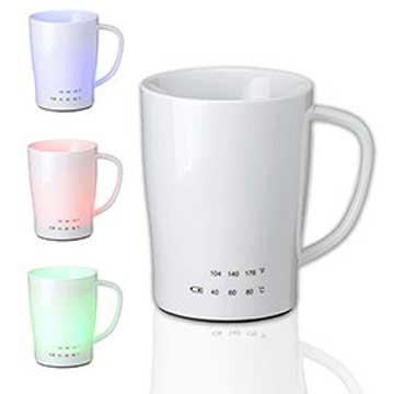 iTOMO-Cup 智能提醒喝水發光溫感杯-典雅杯